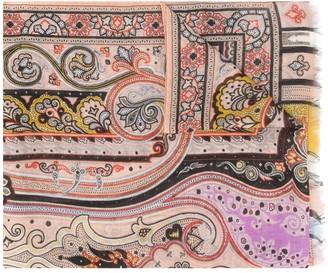 Etro Delhy printed scarf
