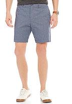 Original Penguin P55 Basket Dobby Flat-Front Slim-Fit Shorts
