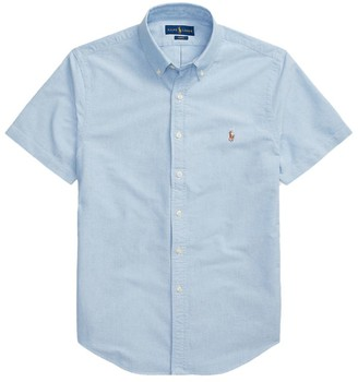 Ralph Lauren Short-Sleeved Oxford Shirt