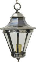 One Kings Lane Vintage 1970s Lantern-Style Nickel-Plate Pendant