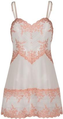 Wacoal Semi-Sheer Floral-Lace Nightdress