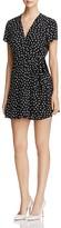 Yumi Kim Kennedy Heart Print Mini Wrap Dress