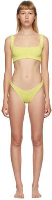 Hunza G Yellow Xandra Bikini