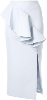 Rachel Gilbert Arden ruffle skirt