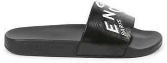 Givenchy Logo Slide Sandals