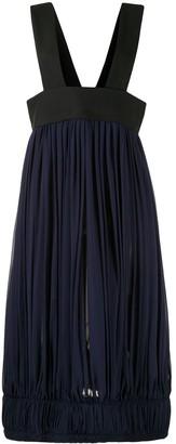Comme des Garcons Topless Smocked Dress
