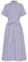 Lisa Marie Fernandez Gingham Cotton Shirt Dress
