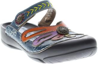Spring Step L'Artiste Leather Clogs - Copa