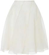 Cacharel Silk Ruffled Skirt