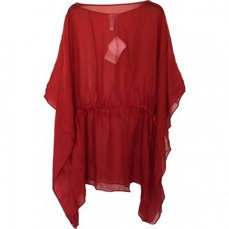 La Perla Red Silk Swimwear for Women