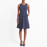 J.Crew Factory Windowpane tweed dress