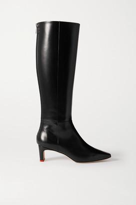 AEYDĒ Sidney Leather Knee Boots