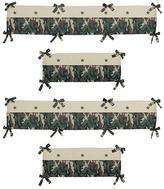 JoJo Designs Sweet Camo Green Collection Crib Bumper