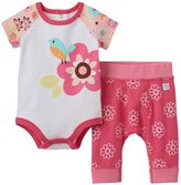 Boppy Baby Girl Flower Bodysuit & Pants Set
