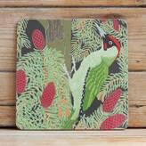 Bird Green Woodpecker Placemat 'Gloss'