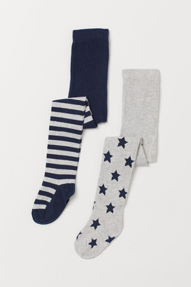 H&M 2-Pack Fine-Knit Tights