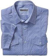 Johnston & Murphy Shadow Squares Camp Shirt