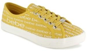 Bebe Women's Daylin Logo Sneaker Women's Shoes