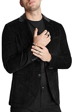 John Varvatos Collection Striped Slim Fit Jacket