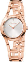 Calvin Klein class Women's Swiss Class Rose Gold-Tone Pvd Stainless Steel Bracelet Watch 32mm K6R23626