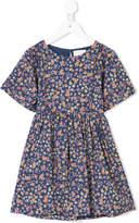 Simple shortsleeved floral dress