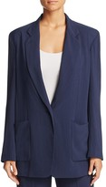 DKNY Pure Oversized Notch Lapel Blazer