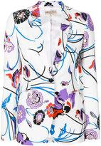 Emilio Pucci floral print blazer