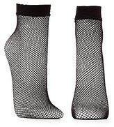 Charlotte Russe Fishnet Ankle Socks