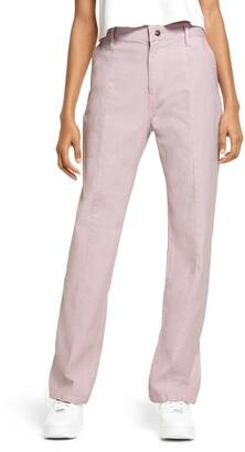 Melody Ehsani Stretch Cotton Twill Pants