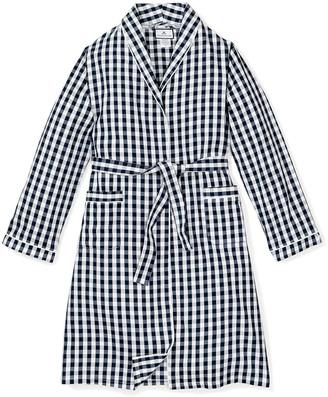 Petite Plume Gingham Robe, Size 2-14