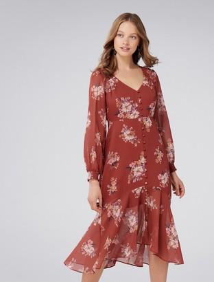 Forever New Sammy Petite Midi Dress - Desert Rose - 4