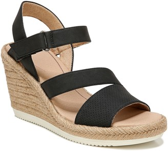 Dr. Scholl's Strappy Espadrille Wedges - Vanity