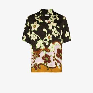Dries Van Noten Carltone floral print shirt