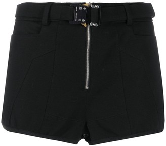 Alyx Buckled Fitted Shorts