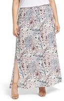 Plus Size Women's Caslon Maxi Skirt