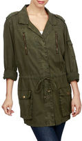 Lucky Brand Cotton Military Jacket