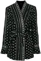 Dodo Bar Or belted kimono jacket