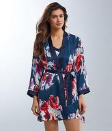 Kate Spade Charmeuse Floral Robe