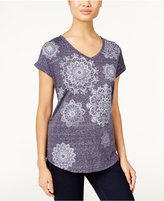 Style&Co. Style & Co. Medallion Graphic T-Shirt, Only at Macy's