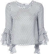 Milly frilled sleeve top