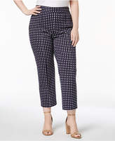 MICHAEL Michael Kors Size Side-Zip Capri Pants
