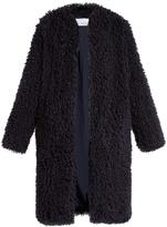 Raey Shaggy edge-to-edge coat