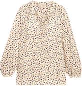 Vanessa Bruno Floral-print Silk Crepe De Chine Blouse - FR42