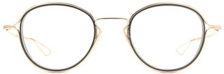 Dita Eyewear Round Frame Glasses