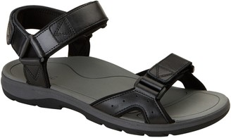 Vionic Men's Leather Strap Sandals - Leo