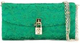 Dolce & Gabbana 'Dolce' clutch - women - Silk - One Size