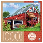 "Cardinal Milton Bradley 1000pc Puzzle - Thelma Winter ""Country Gift Shop, Eden, NY"""
