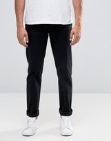 Cheap Monday Slack Slim Chino Black Stretch