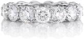 De Beers Platinum DB Classic Full Eternity 0.4ct diamond band