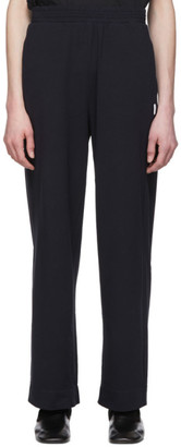 MAX MARA LEISURE Navy Mabel Lounge Pants